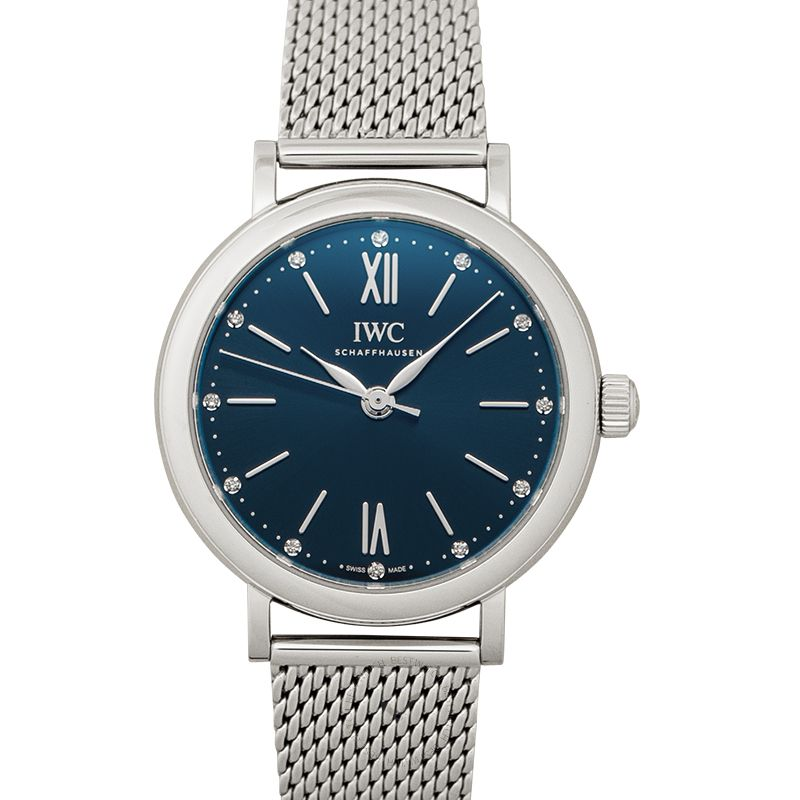 IWC Portofino Automatic 34 Automatic Blue Dial Ladies Watch