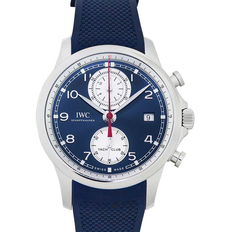 IWC Portugieser Yacht Club Chronograph Automatic Blue Dial Men's Watch