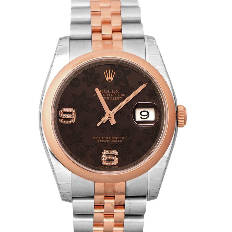 勞力士 日誌型 Datejust腕錶系列 116201BRFDAJ