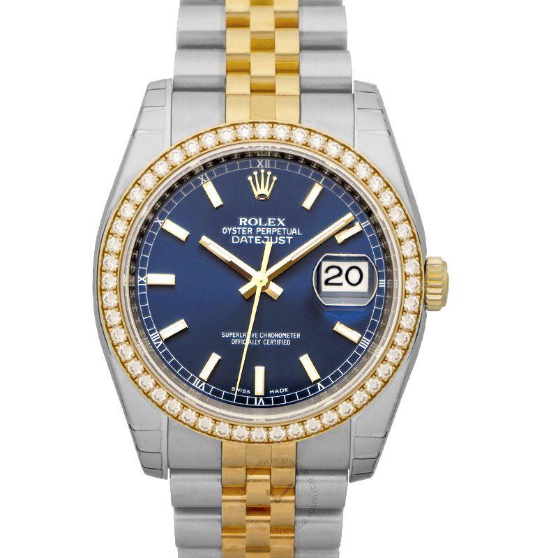 勞力士 日誌型 Datejust腕錶系列 116243 BLUE