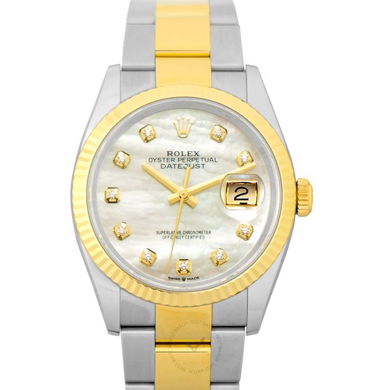 勞力士 日誌型 Datejust腕錶系列 126233-G-Oyster