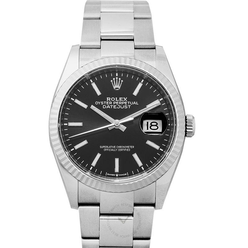 勞力士 日誌型 Datejust腕錶系列 126234 Black Oyster
