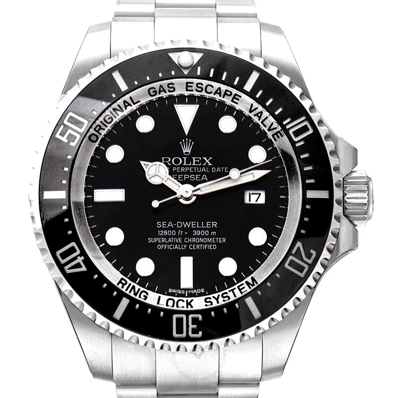 勞力士 海使型 Sea Dweller腕錶系列 116660 Black