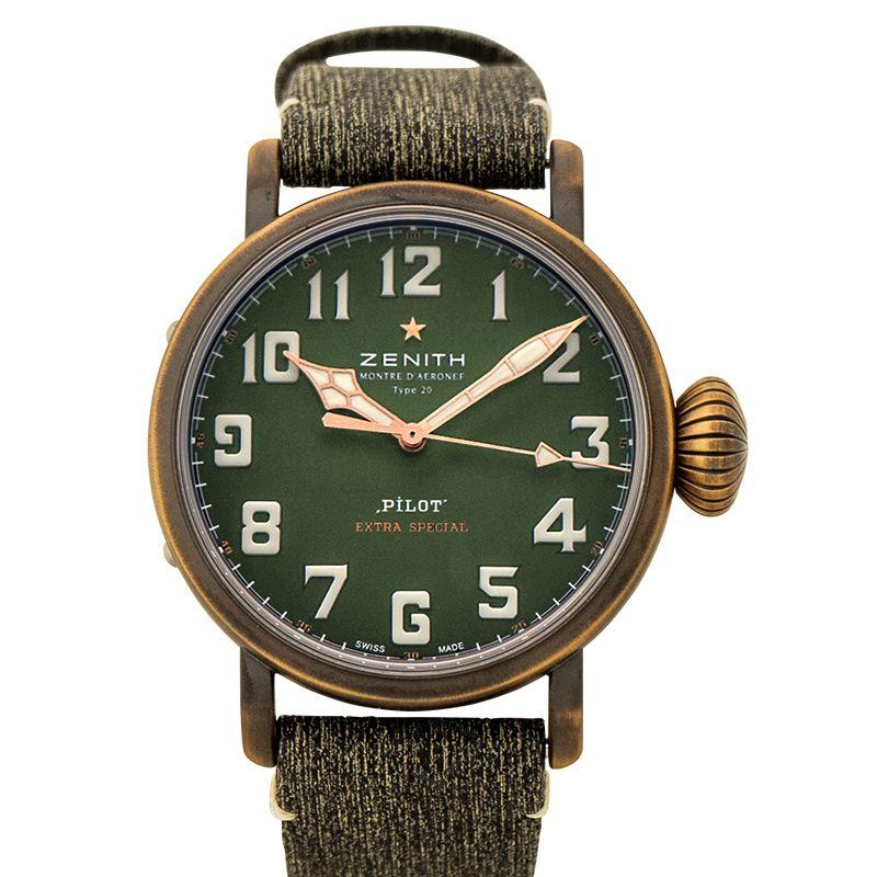 真力時 Pilot腕錶系列 29.2430.679/63.I001