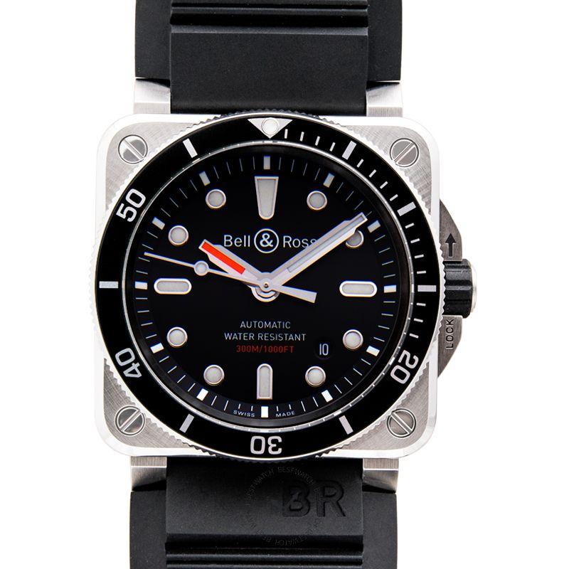 柏莱士 Instruments腕錶系列 BR0392-D-BL-ST/SRB