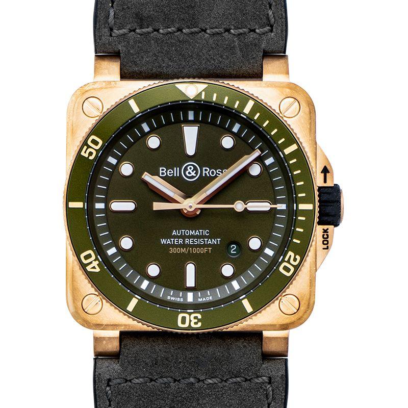 柏莱士 Instruments腕錶系列 BR0392-D-G-BR/SCA