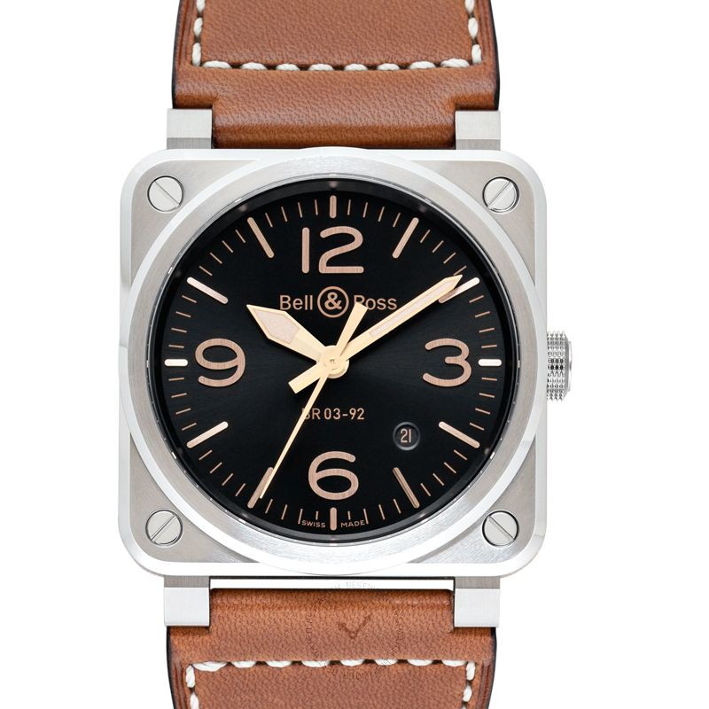 柏莱士 Instruments腕錶系列 BR0392-GH-ST/SCA