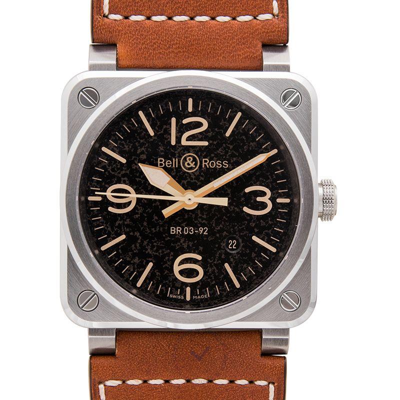 柏莱士 Instruments腕錶系列 BR0392-ST-G-HE/SCA/2