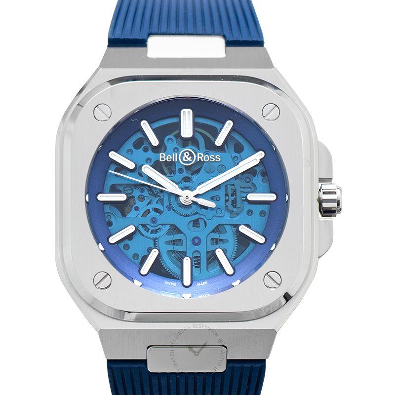 柏莱士 Instruments腕錶系列 BR05A-BLU-SKST/SRB