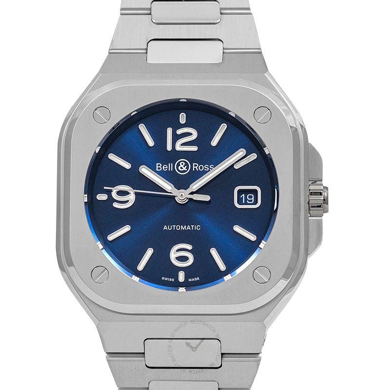 柏莱士 Instruments腕錶系列 BR05A-BLU-ST/SST