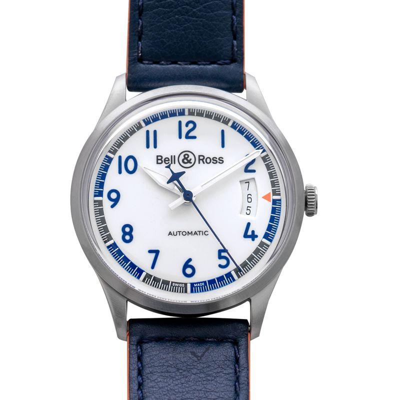 柏莱士 Vintage腕錶系列 BRV192-BB-ST/SCA