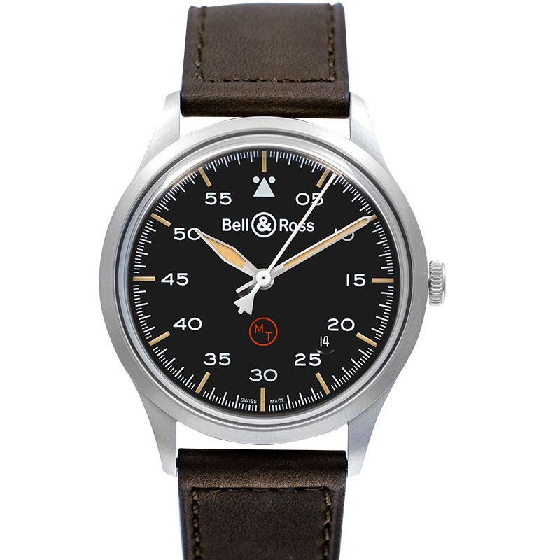 柏莱士 Vintage腕錶系列 BRV192-MIL-ST/SCA