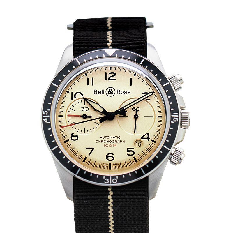 柏莱士 Vintage腕錶系列 BRV294-BEI-ST/SF