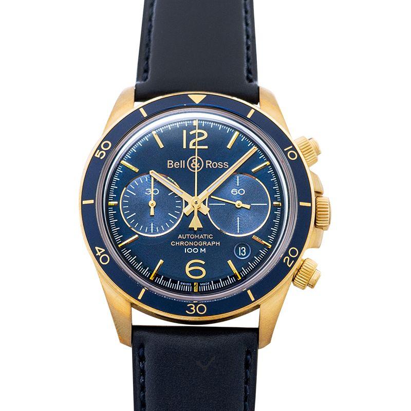柏莱士 Vintage腕錶系列 BRV294-BLU-BR/SCA