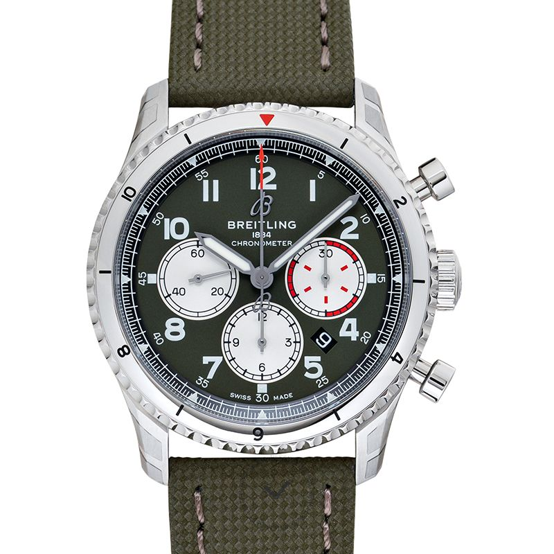百年靈 飛行員8 腕錶系列 AB01192A1L1X1