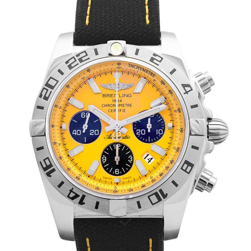 百年靈 機械計時腕錶系列 AB01109S/I523