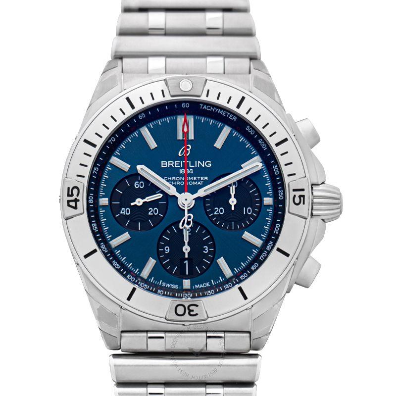 百年靈 機械計時腕錶系列 AB0134101C1A1