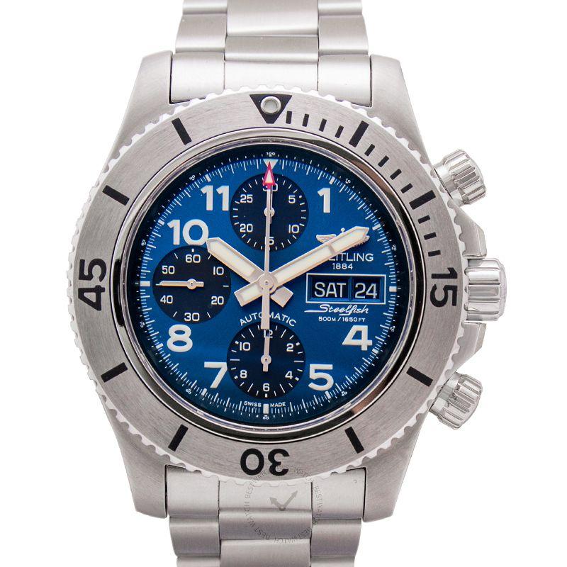 百年靈 超級海洋腕錶系列 A13341C3/C893