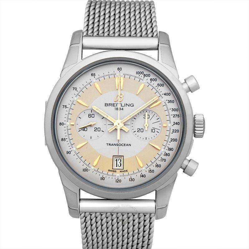 百年靈 越洋計時腕錶系列 AB015412/G784