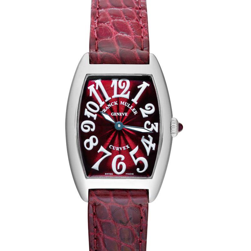 法穆蘭 Cintrée Curvex 腕錶系列 1752QZ AC BLC NR