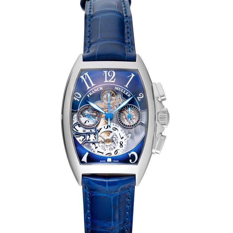 法穆蘭 Cintrée Curvex 腕錶系列 8083 CC GD FO AC NR