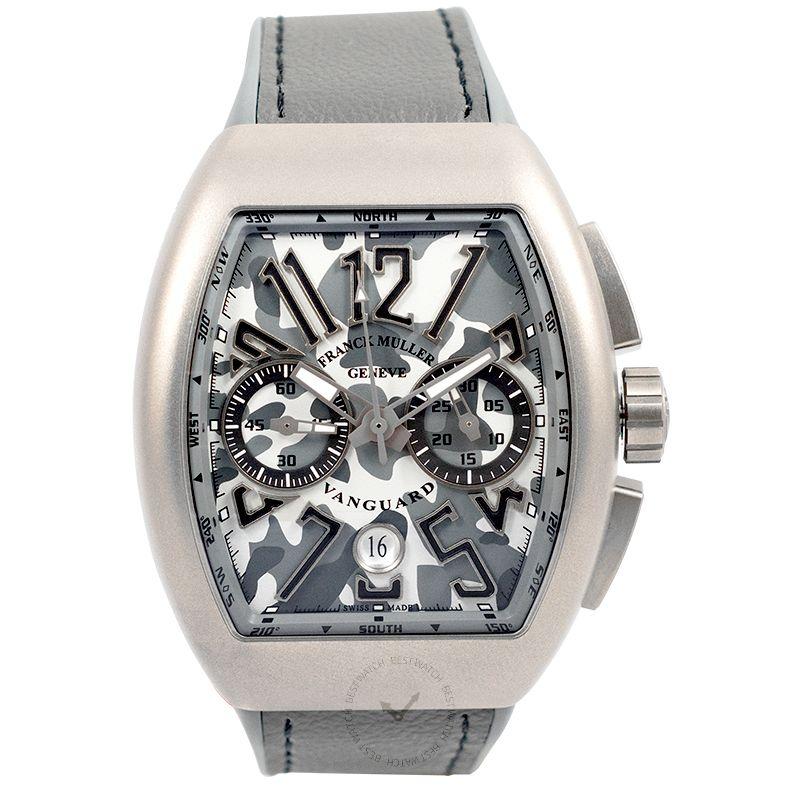 法穆蘭 Vanguard 腕錶系列 V 45 CC DT CAMO TT MC TT