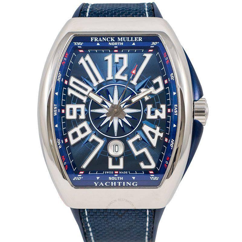 法穆蘭 Vanguard 腕錶系列 V 45 SC DT AC YACHT (BL)