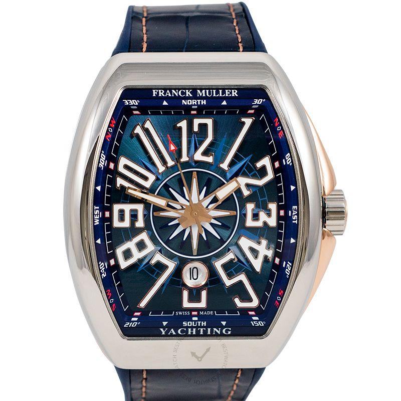 法穆蘭 Vanguard 腕錶系列 V 45 SC DT AC YACHT STG (5N)