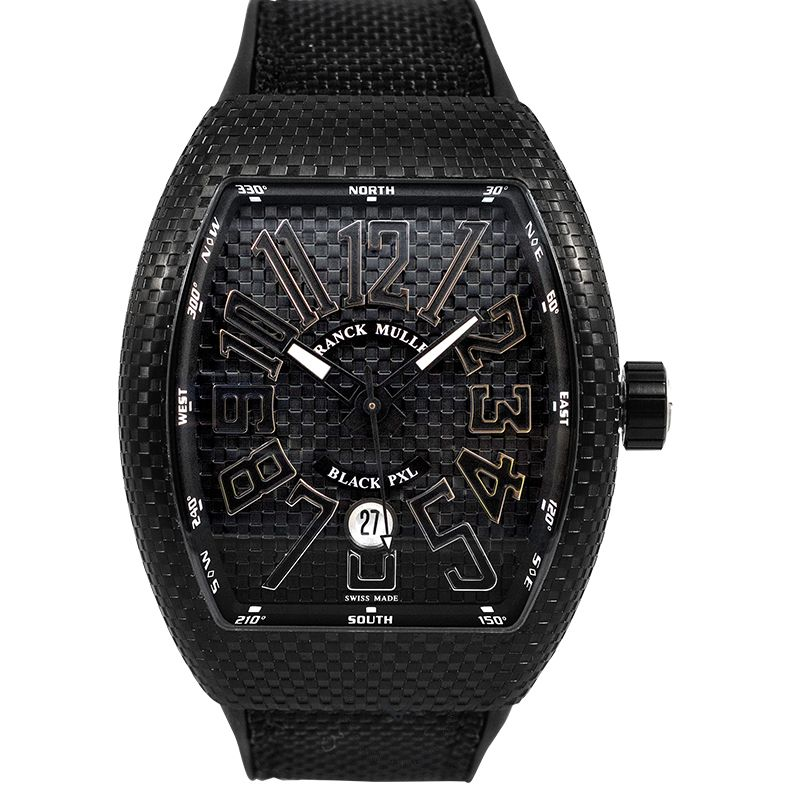 法穆蘭 Vanguard 腕錶系列 V 45 SC DT BLK PXL AC NR BR AC