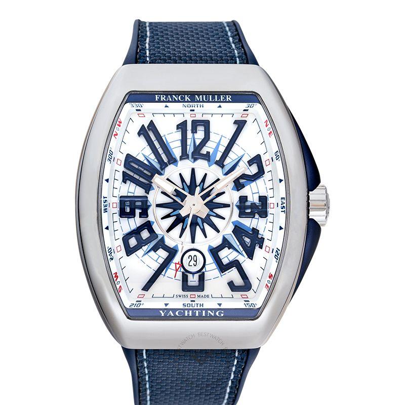 法穆蘭 Vanguard 腕錶系列 V 45 SC DT YACH (WH)