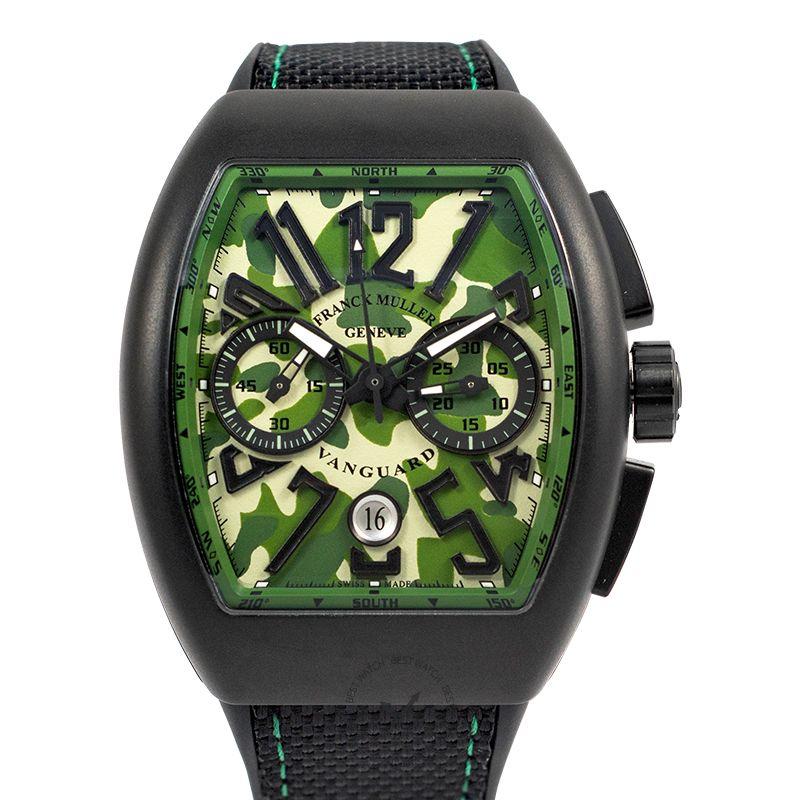 法穆蘭 Vanguard 腕錶系列 V45 CC DT CAMO TT NR MC VE