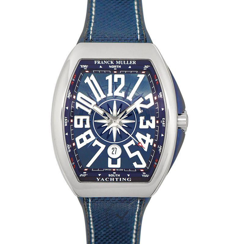 法穆蘭 Vanguard 腕錶系列 V45 SC DT AC BL