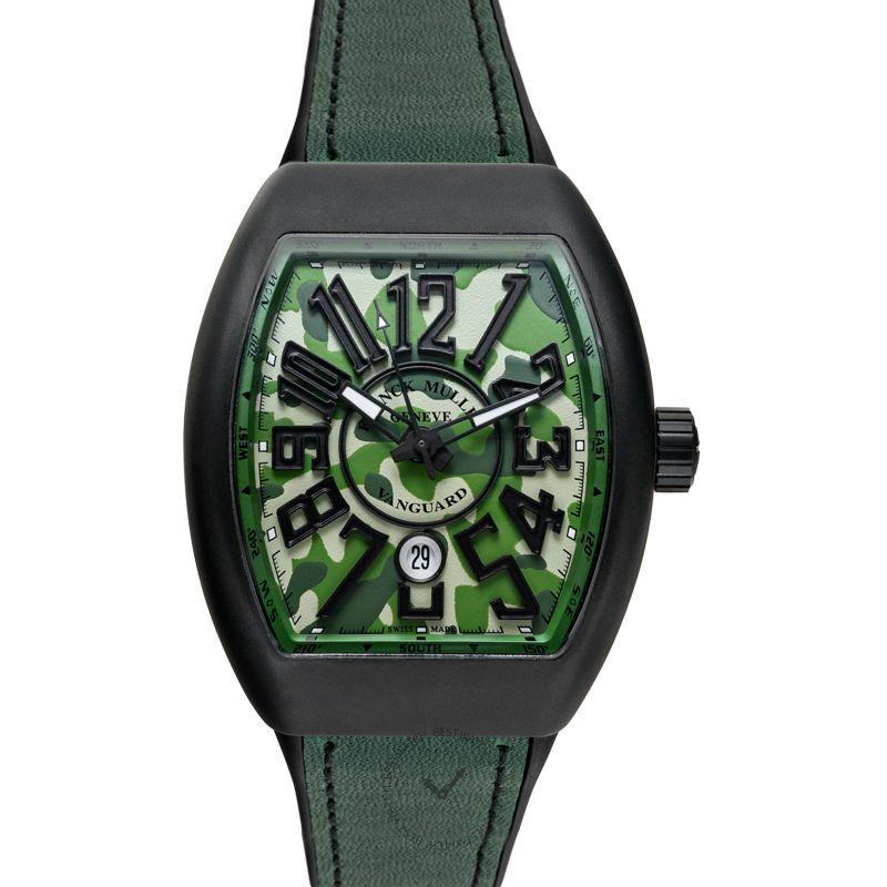 法穆蘭 Vanguard 腕錶系列 V45 SC DT TT NR MC VE CAMOUFLAGE
