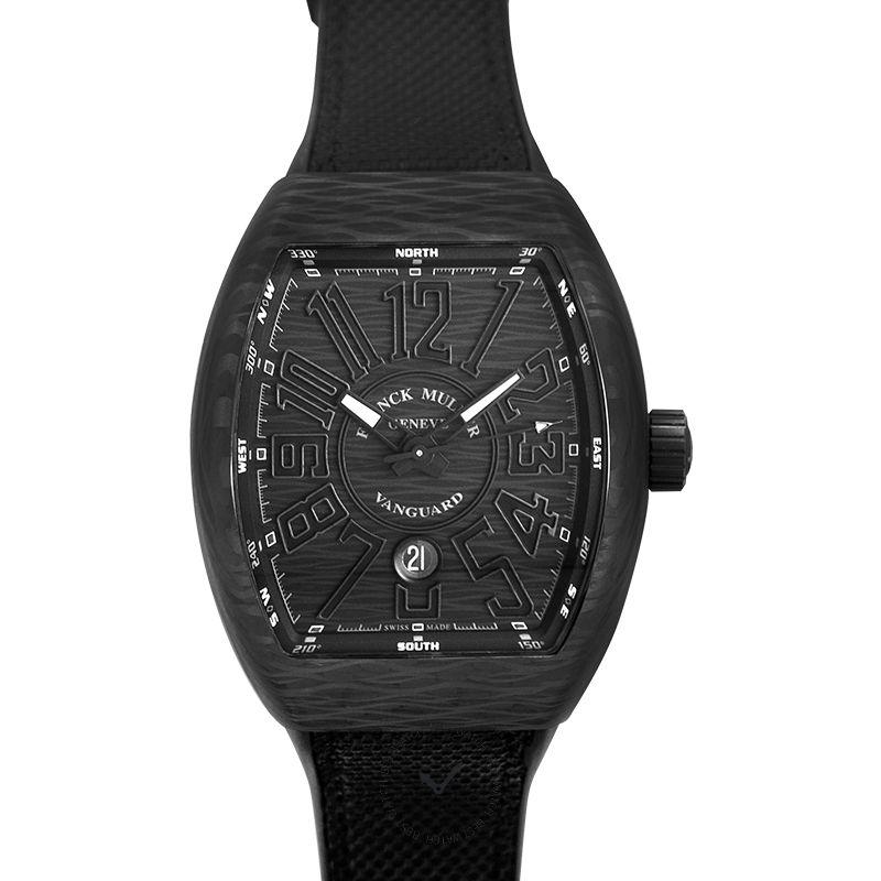 法穆蘭 Vanguard 腕錶系列 v45 sc dt carbon nr