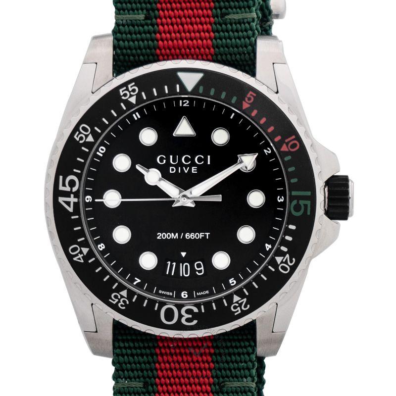 古馳 Dive腕錶系列 YA136209A