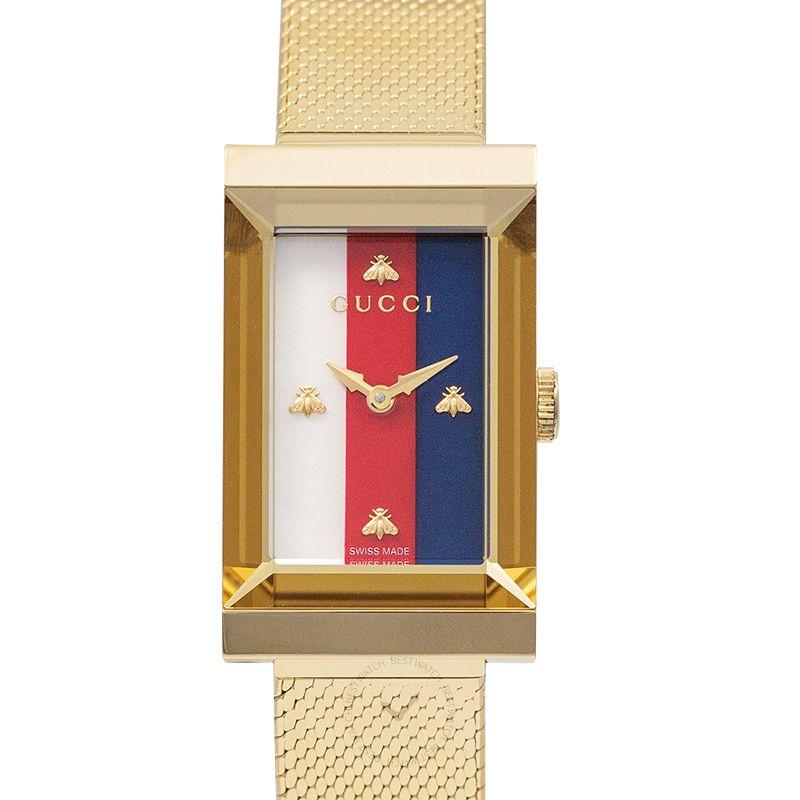 古馳 G-Frame腕錶系列 YA147410