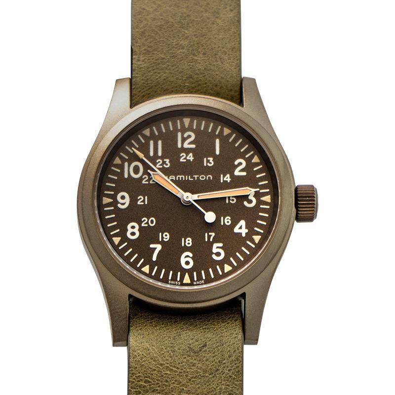 漢米爾頓錶 卡其野戰腕錶系列 H69449861