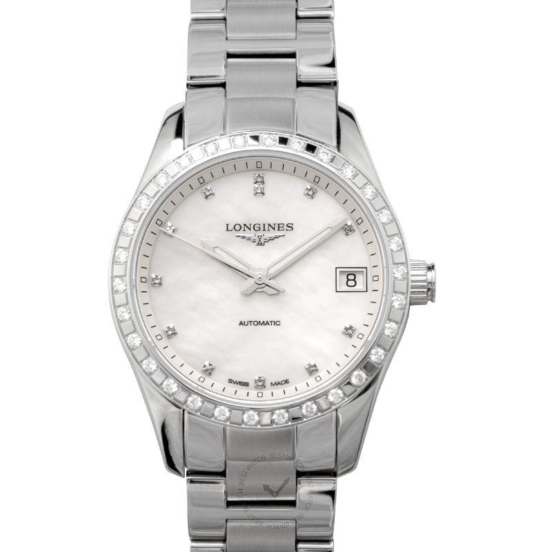 浪琴 征服者經典腕錶系列 L23850876