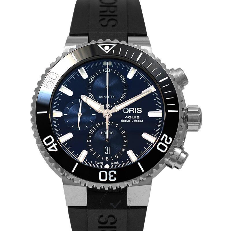 豪利時 Aquis 腕錶系列 01 774 7743 4155-07 4 24 64EB