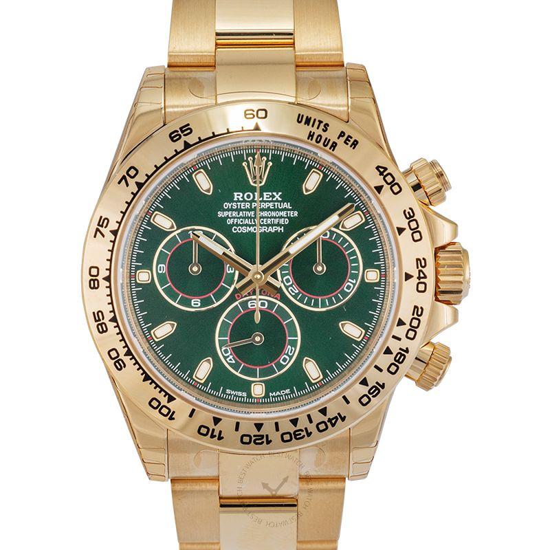 勞力士 地通拿 Daytona腕錶系列 116508/Green