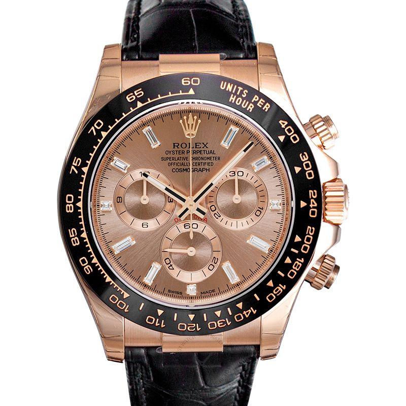 Rolex Cosmograph Daytona 116515 LN Baguette, Pink Dial