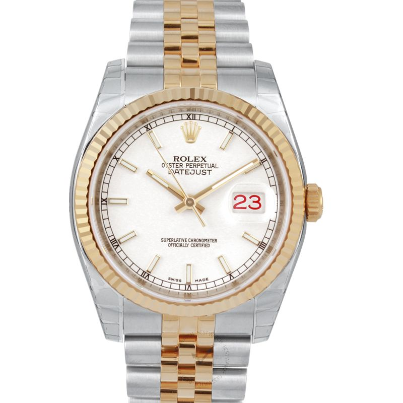 Rolex Datejust 116233/white
