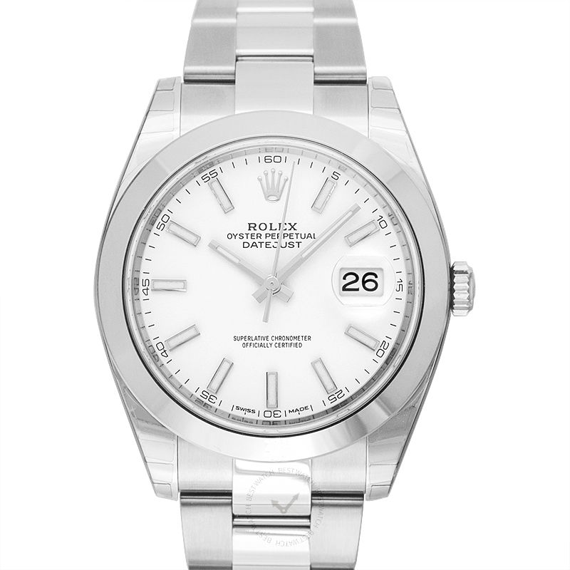 Rolex Datejust 116300/White Stick
