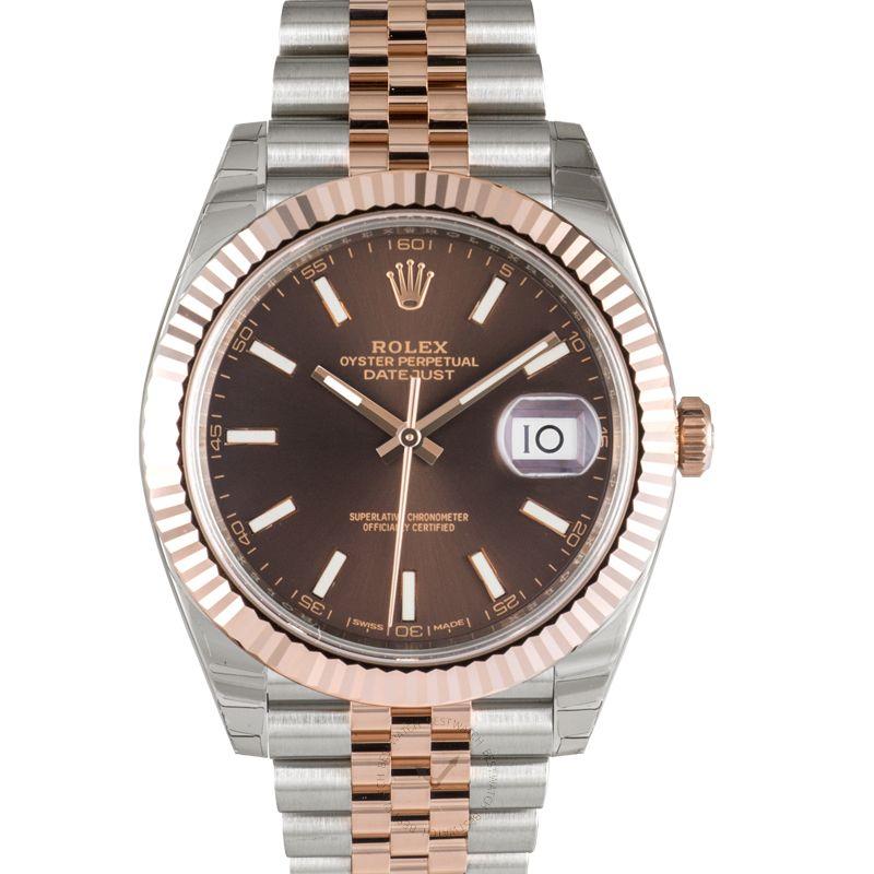 勞力士 日誌型 Datejust腕錶系列 126331 Chocolate