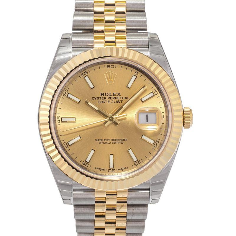 勞力士 日誌型 Datejust腕錶系列 126333 Champagne Jubilee