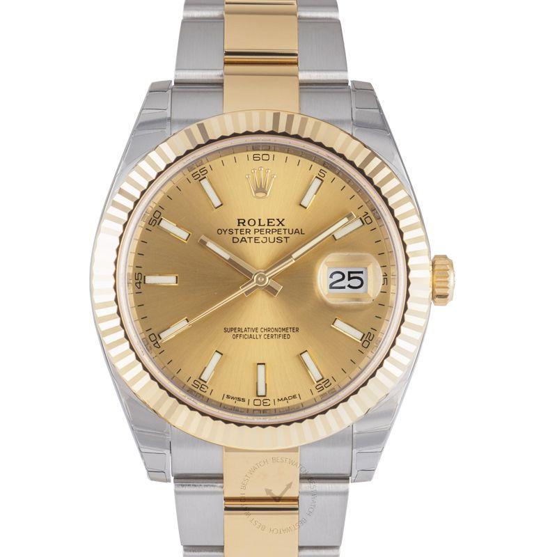 Rolex Datejust 126333 Champagne