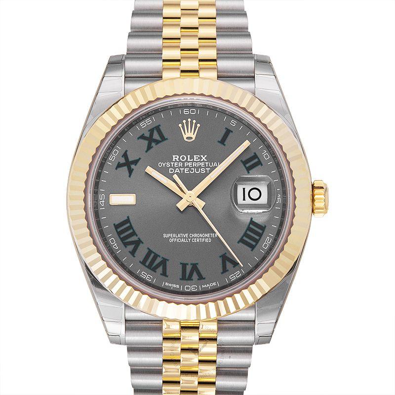 Rolex Datejust 126333-Grey-R-J