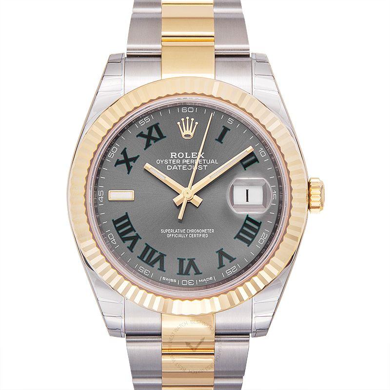勞力士 日誌型 Datejust腕錶系列 126333-Grey-R-O