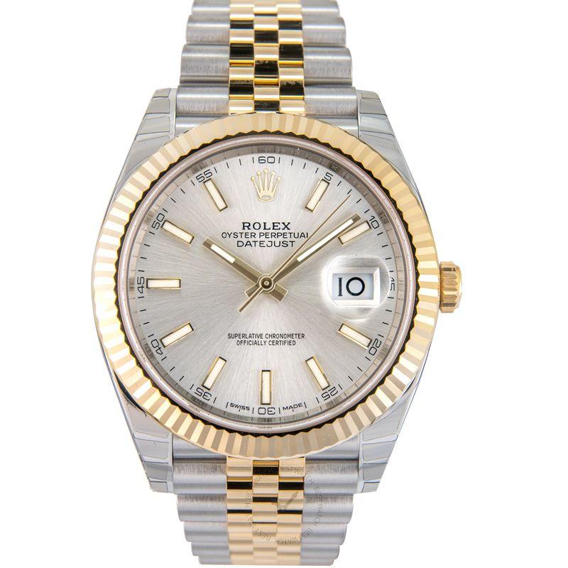 勞力士 日誌型 Datejust腕錶系列 126333 Silver Jubilee