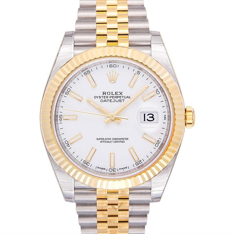 勞力士 日誌型 Datejust腕錶系列 126333 White Jubilee